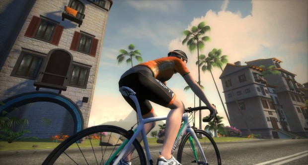 Zwift is a social fitness game that takes indoor cycling to the next level.