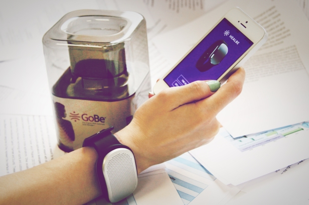 The GoBe is the only automatic calorie counter.