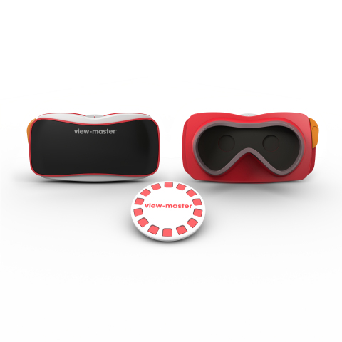 The new View-master takes it style cues from the original.