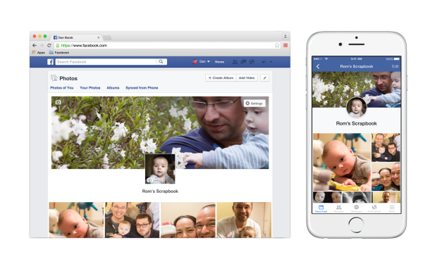 You can now save all the pictures of your kid in one special place on your Facebook page.